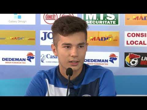 Tânărul fotbalist al Politehnicii, Alex Zaharia, vorbește despre pasul spre prima echipă