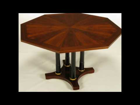 octagon dining room table plans