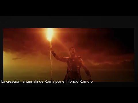 La creación  Anunnaki de Roma Y el híbrido Rómulo