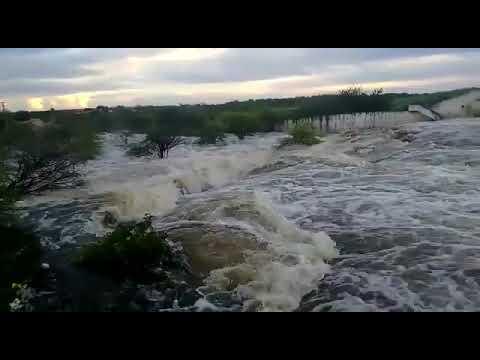Após chuvas, águas de açude em Angicos mostram espetáculo da natureza