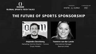 Global Sports Tech Talks #6 The Future of Sports Sponsorship