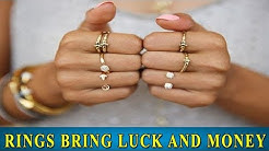 LUCK and MONEY will depend on how you wear the ring
