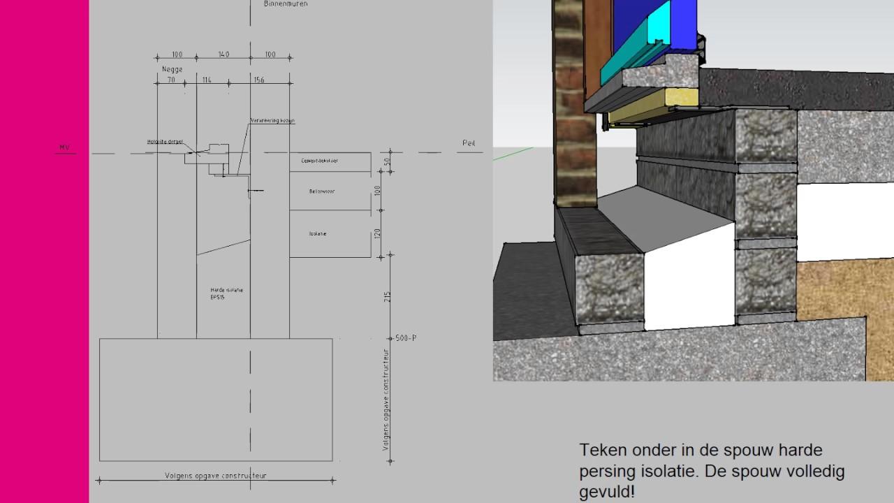 Magnifiek detail onderdorpel voordeur - YouTube KY57