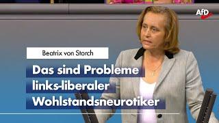 Beatrix von Storch zum Transsexuellen-Gesetz der Grünen.