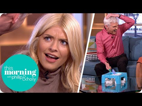 Phillip Loses It Over A Game Of 'Don't Break The Ice'! | This Morning