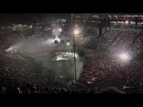 Metallica live at The O2 Arena
