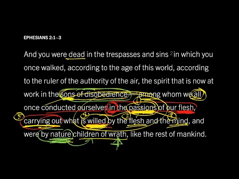 Ephesians 2:1–3 // Part 9 // Who Are the Sons of Disobedience?