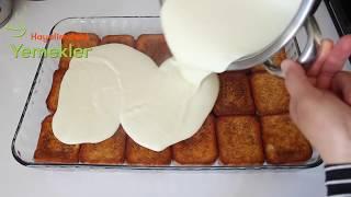 Karamelli Etimek Tatlısı-Etimek Tatlısı Nasıl Yapılır/Hayalimdeki Yemekler