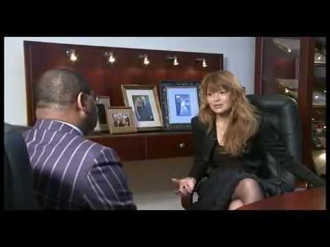 Гульнара Каримова дает интервью