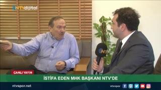 Canlı Yayın -  İstifa eden MHK Başkanı Yusuf Namoğlu, NTV'nin sorularını yanıtlıyor.