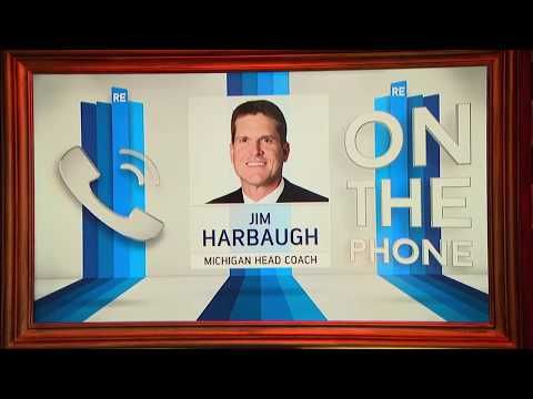 Michigan Head Football Coach Jim Harbaugh Dials in to the Rich Eisen Show | Full Interview | 6/12/17