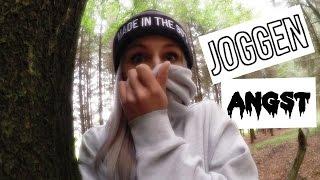 Follow me around | joggen im Wald | ich kriege keine Luft mehr | Sport! #Bonnytrash