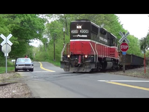 Providence and Worcester RR on a Sunday 14/May/2017