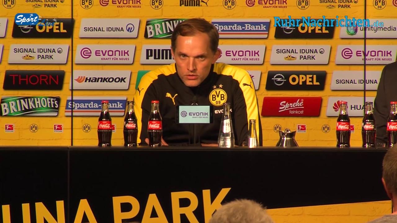 Pressekonferenz BVB vs. Hoffenheim 2:1 (1:0)