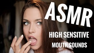 ASMR Gina Carla 👄 Extreme High Sensitive Mouth Sounds! thumbnail
