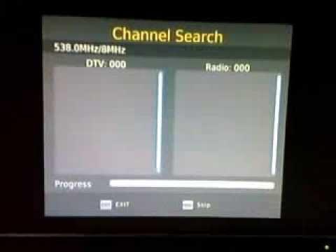 Cara Pencarian Scan Manual Set Top Box Tv Digital Dvb T2 Youtube