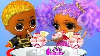 Витчи В ШОКЕ! Мария пошла в кафе с новым мальчиком ЛОЛ! Мультик куклы лол сюрприз LOL dolls