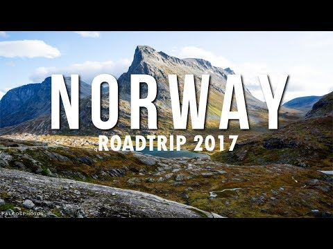 Norway roadtrip 2017 cities, fjords, mountains, adventure, waterfalls, drone