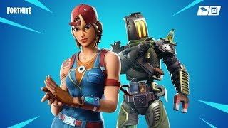 Fortnite new skins. Kitbash,Sparkplug - Junk junction skins