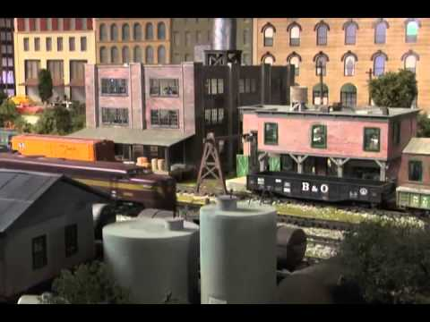 Official 2012 EnterTrainment Junction Model Train Display
