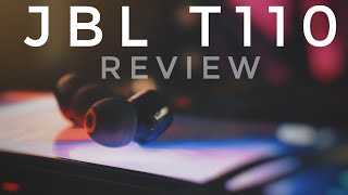 JBL T110 Review//Best budget earphones (2019)