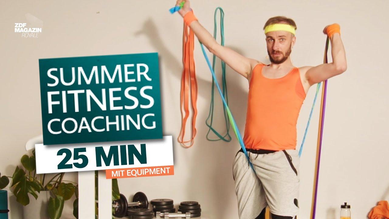 Full Body Workout für Beginner | Mit Equipment | PART 2 | ZDF Magazin Royale