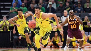Highlights: Oregon men's basketball runs away from Iona in NCAA first round