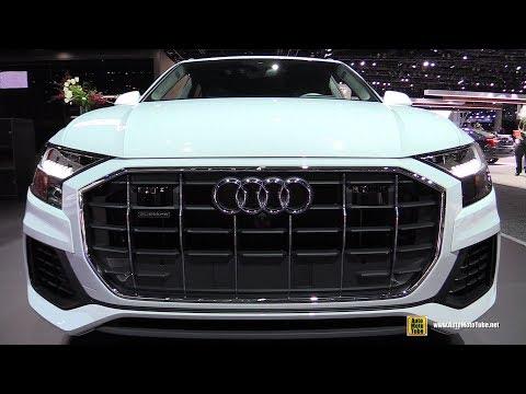 2918 Audi Q8 Quattro - Exterior and Interior Walkaround - 2018 LA Auto Show
