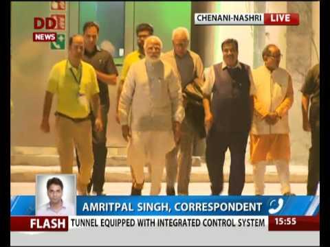 PM Modi inaugurates India's longest Chenani-Nashri road tunnel in J&K