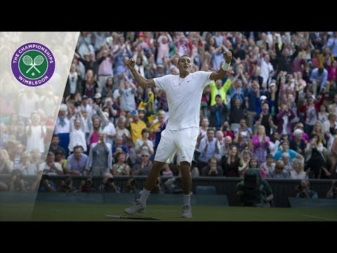 Nick Kyrgios vs Rafael Nadal: Wimbledon fourth round 2014 (Extended Highlights)