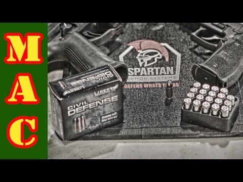 Liberty Civil Defense 9mm and Body Armor