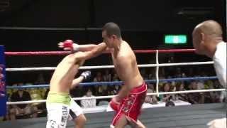 (7.7.2012 ディファ有明 第4試合) WARU下克上 -70kgワル日本一決定ト...