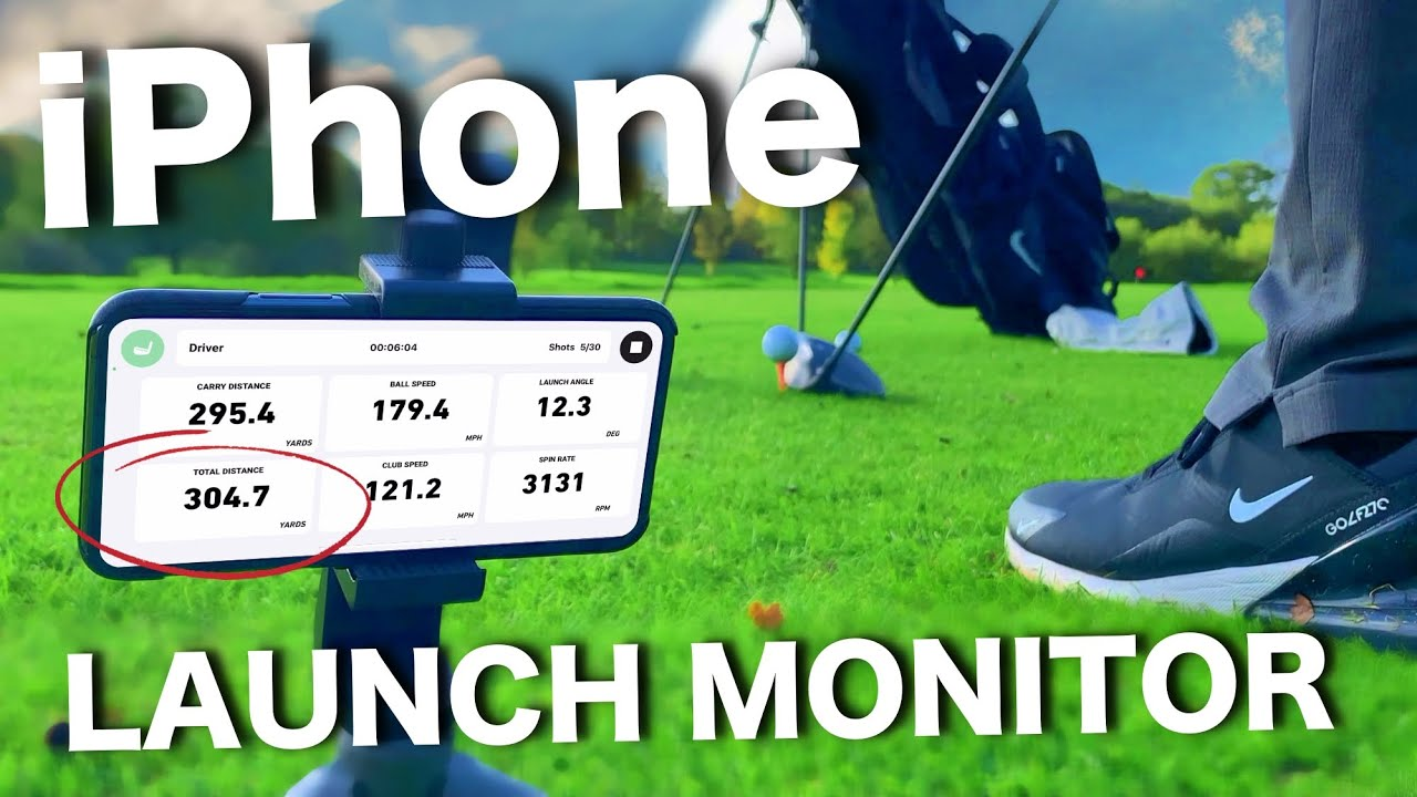 FREE Golf LAUNCH MONITOR app for iPhone! Too good to be true?