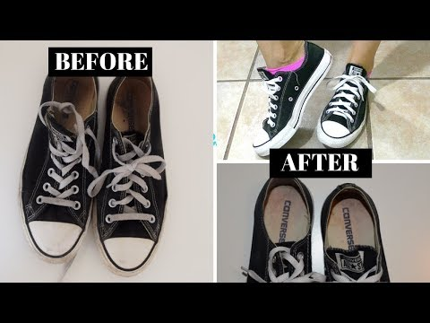 How I clean easily dirty converse