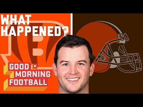 What Went Wrong in the Browns & Bengals AJ McCarron Trade? | Good Morning Football | NFL Network