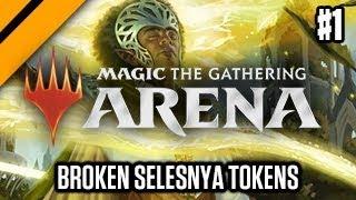 MTG: Arena - GRN Drafts - Broken Selesnya Tokens & Light of the Legion P1 (sponsored)