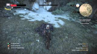 Ведьмак 3: Дикая Охота_Бессмертный волколак