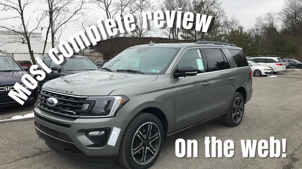 2019 Ford Expedition Limited Stealth Edtion Review