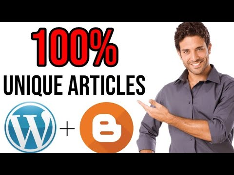 Free Unique Articles : How To Generate 100% Unique Article In 5 Minutes [ 2020 ] - HSP SERVICES