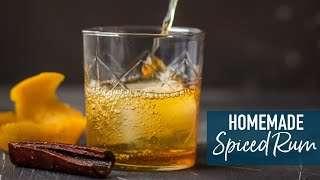 Homemade Spiced Rum!