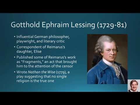 Lecture 07 Scholarly Skepticism: Strauss's Life of Jesus