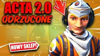 AKTA 2.0 ODRZUCONE + SKLEP FORTNITE 22.01.19 / 22.01 Fortnite Battle Royale