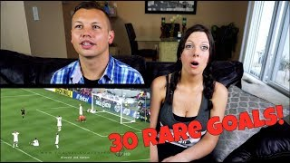 30 Rare Goals We See in Football Reaction!