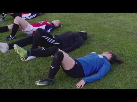 Knäkontroll förhindrar skador hos fotbollstjejer