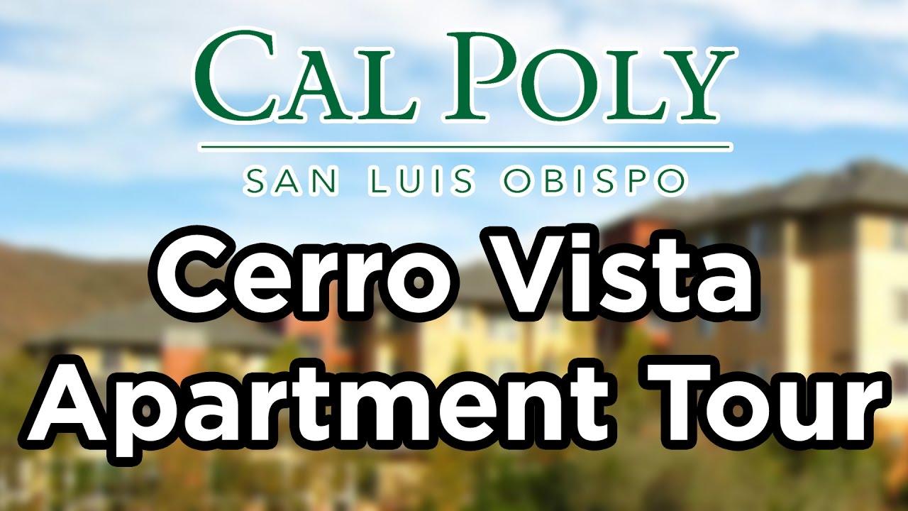 Cal Poly Cerro Vista Apartment Tour