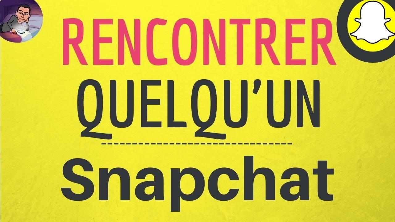 snapchat site de rencontre