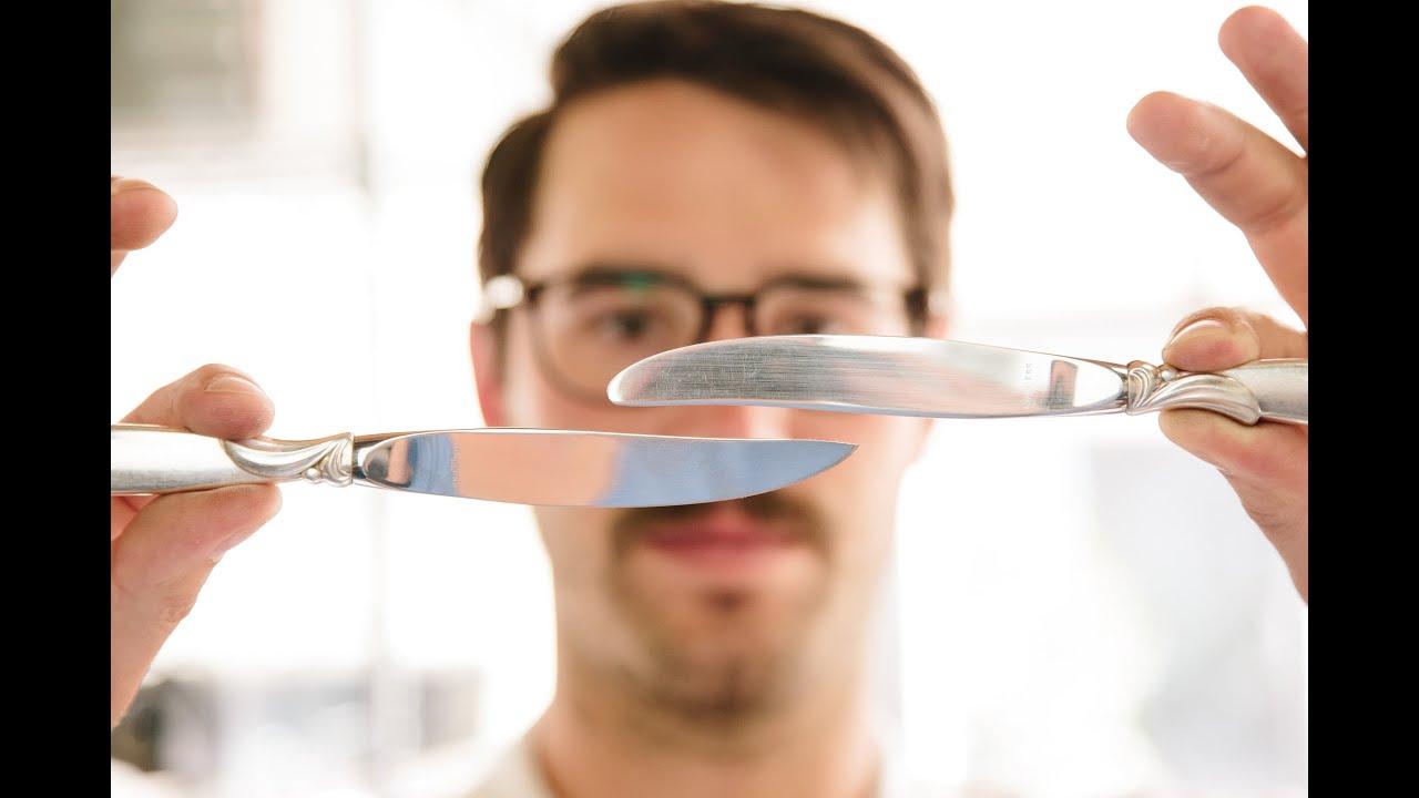 make your own steak knives youtube