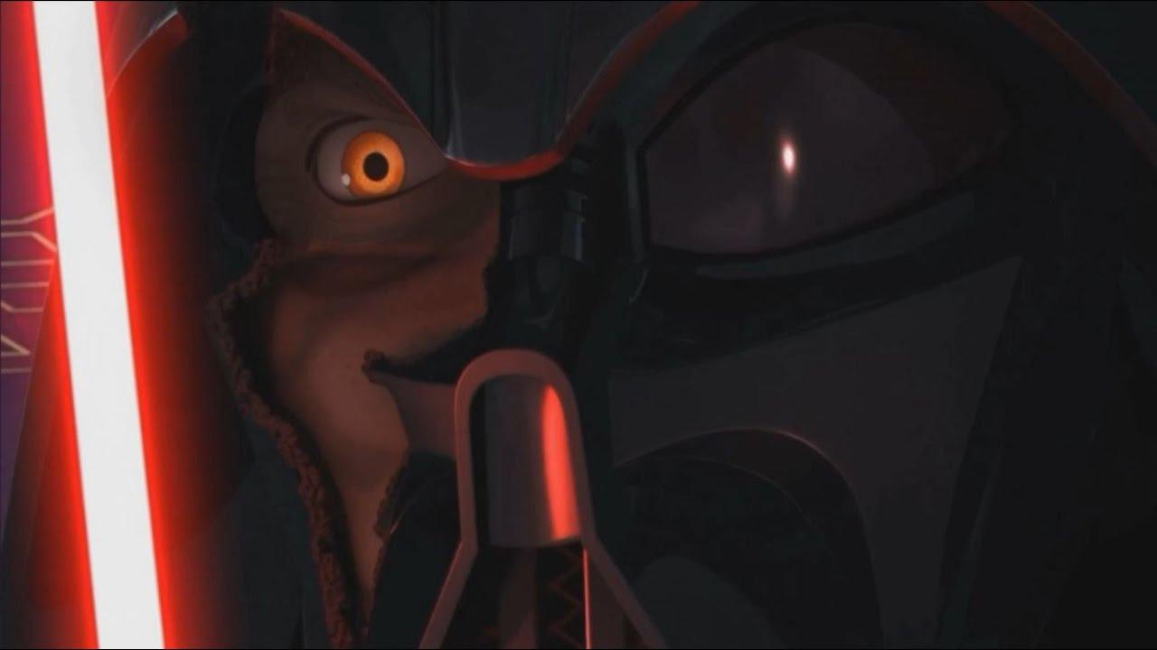 ahsoka vs darth vader star wars rebels s02 final twilight of