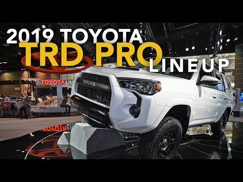 2019 Toyota Tacoma, Tundra and 4Runner TRD Pro - 2018 Chicago Auto Show