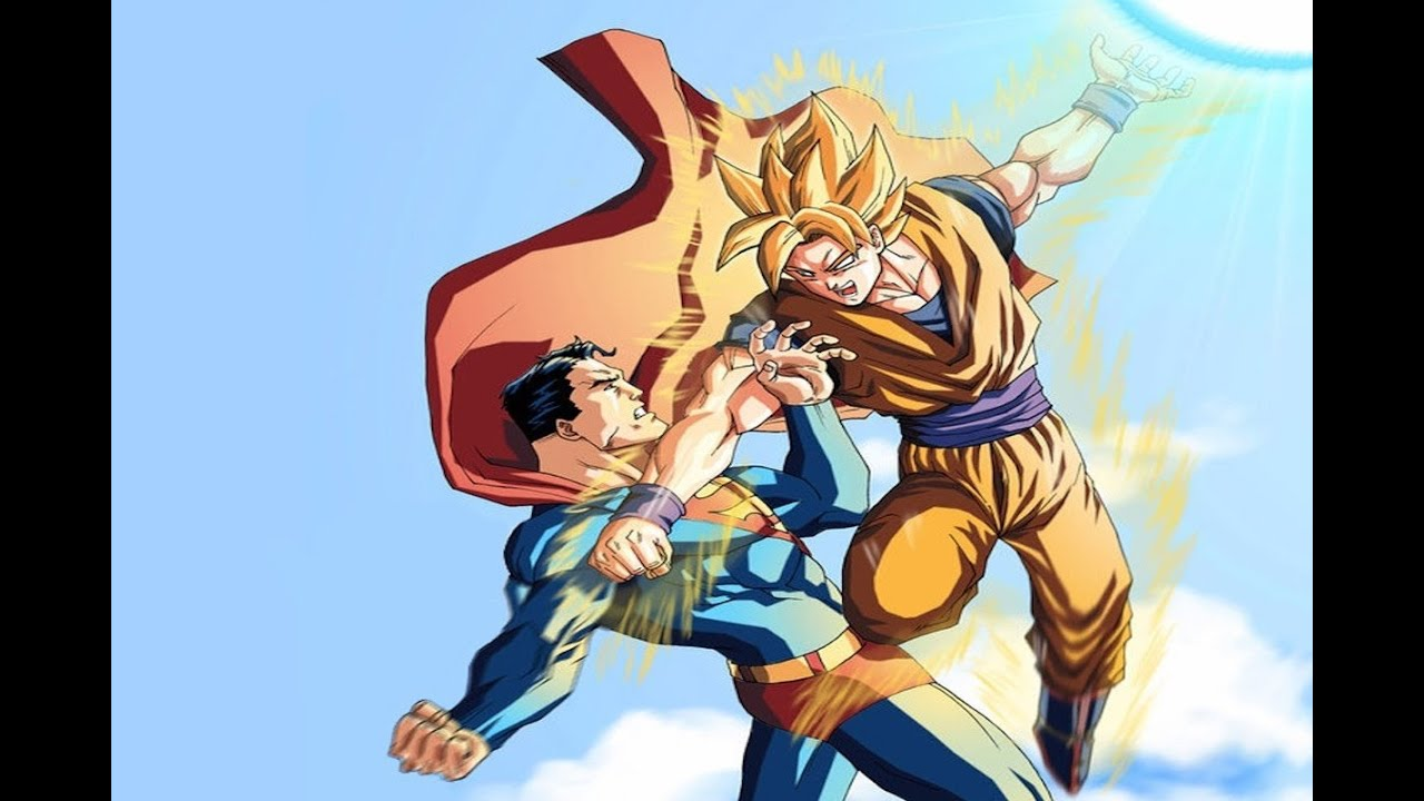 Goku vs Superman Randomness - YouTube